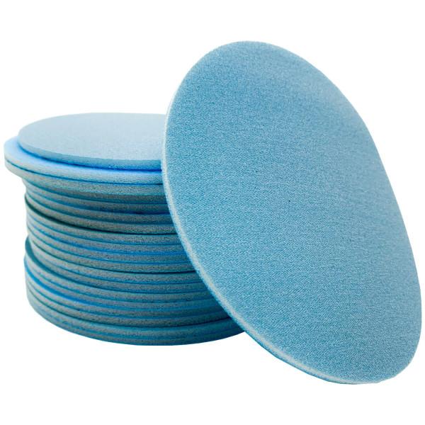 20x Dipoxy Eccentric Grinder Velcro Finish Disc 150mm diameter plate