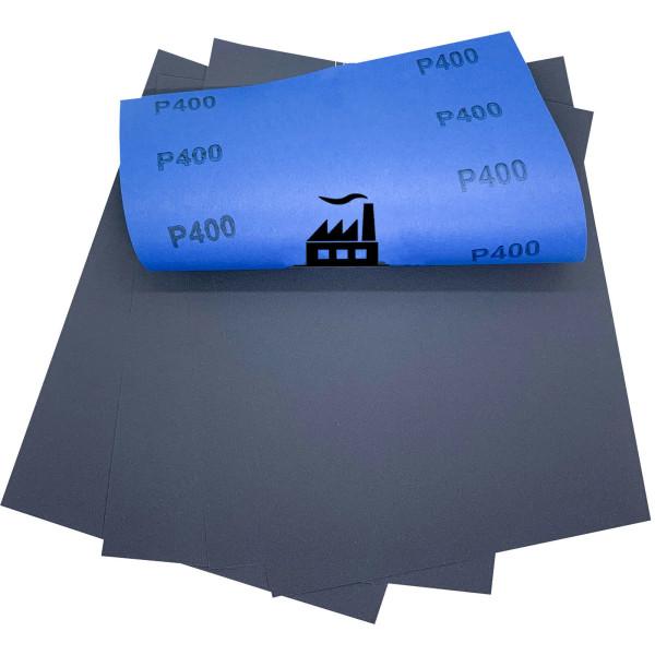 5x Impermeabile Carta Abrasiva Arco 230 x 280 mm Taglio Umido Dipoxy