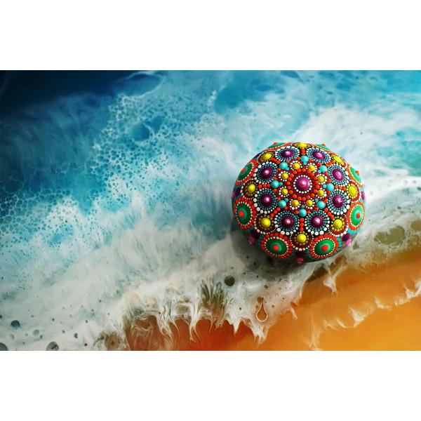 Dipoxy-PMI-RAL 3016 KORALLENROT Extrem hoch konzentrierte Basis Pigment Farbpaste Farbmittel für Epoxidharz, Polyesterharz, Polyurethan Systeme, Beton, Lacke, Flüssigfarbe Kunstharz Schmuck