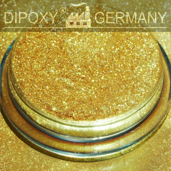 Anodizzato Effetto Pigmenti Pearl 01 Oro Epossidica Colore Polvere di pigmento Cemento