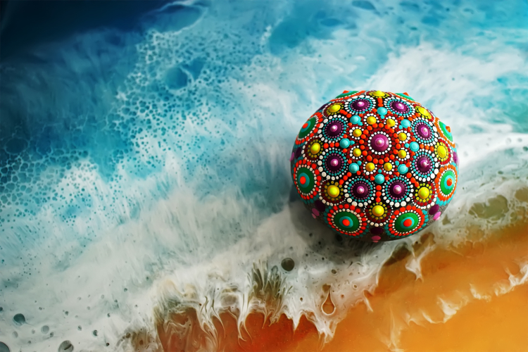 Dipoxy-PMI-RAL 5014 TAUBENBLAU Extrem hoch konzentrierte Basis Pigment Farbpaste Farbmittel für Epoxidharz, Polyesterharz, Polyurethan Systeme, Beton, Lacke, Flüssigfarbe Kunstharz Schmuck