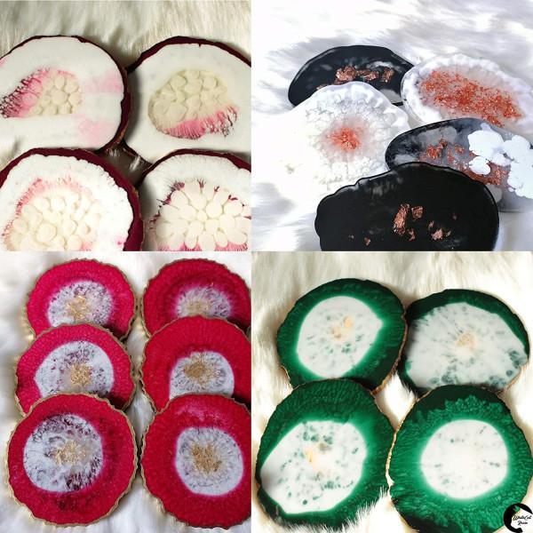 Dipoxy-PMI-RAL 6003 OLIVGRÜN Extrem hoch konzentrierte Basis Pigment Farbpaste Farbmittel für Epoxidharz, Polyesterharz, Polyurethan Systeme, Beton, Lacke, Flüssigfarbe Kunstharz Schmuck
