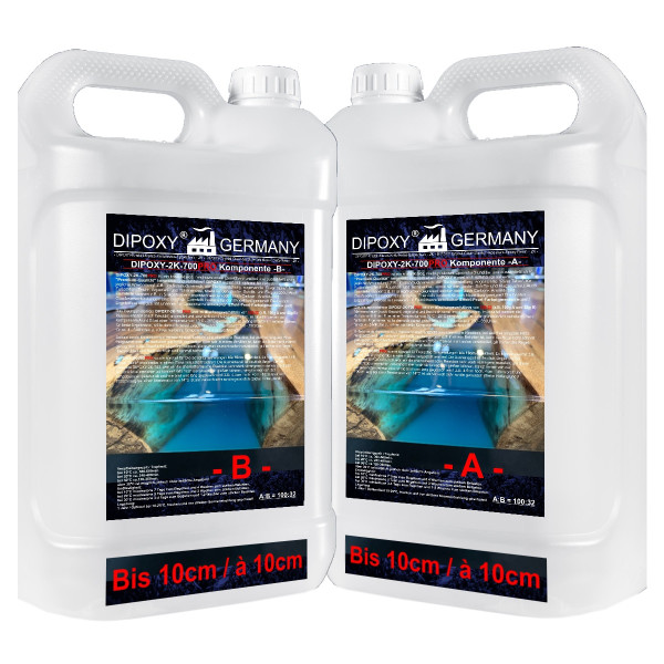 Epoxidharz glasklar Gießharz 2 K resin+Härter 0,1-5cm max10cm Epoxydharz