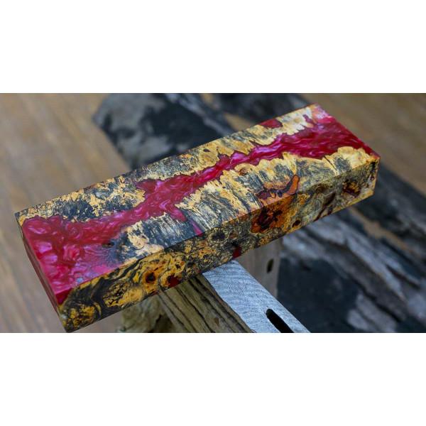 Epoxy Resin + 10g Effect-Pigment-Purple 01 resin Epoxy Table Floor Purple