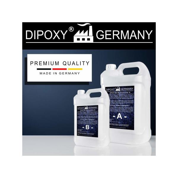0,75-999KG Resine epoxy transparente colle a bois résine peinture sol garage 2 K