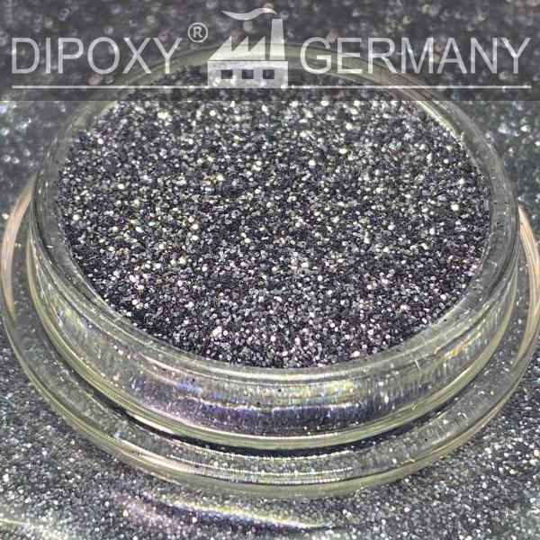 Effekt Pigmente Silver-Black-Glitter-2-Schwarz-04 Epoxy Farbpigment Pigmentpulver