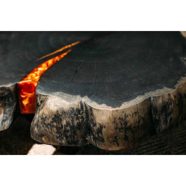 Epoxidharz +10g Effekt-Pigment-Kupfer 01 Gießharz Epoxy Tisch Boden Brown