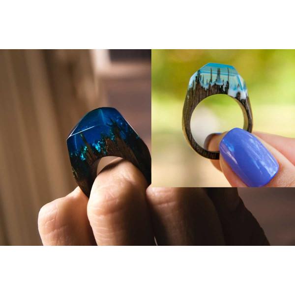 Epoxidharz + Effekt-Pigment-Lila 05 Gießharz Epoxy Tisch Boden Blue