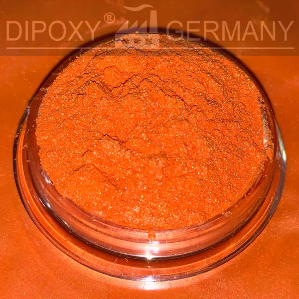 Epoxy Resin Effect Pigments Pearl 01 Orange Epoxy Color Pigment Powder Concrete