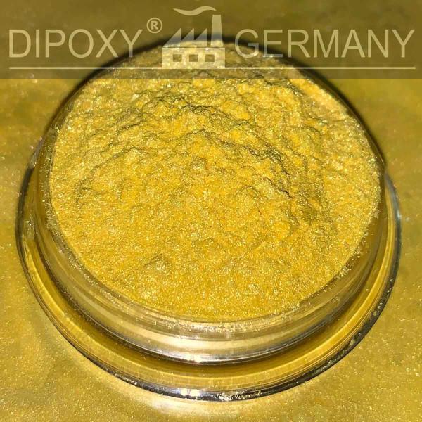 Anodizzato Effetto Pigmenti Pearl 01 Giallo Epossidica Colore Polvere di pigmento Cemento