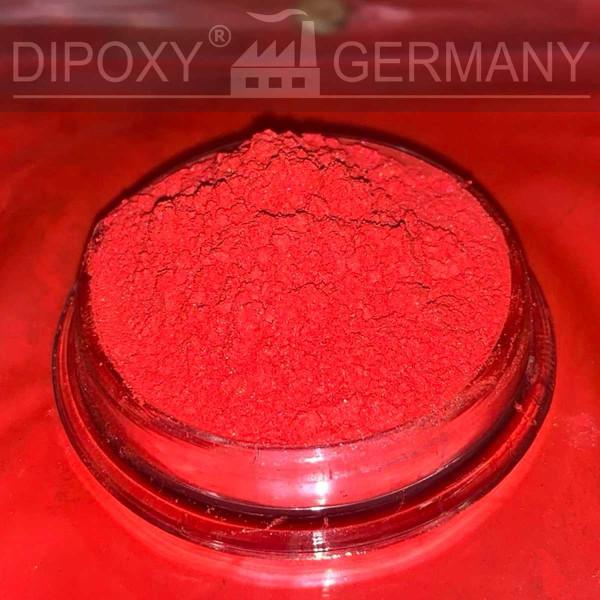 Résine Époxyde Effet Pigments Perle 02 Rouge Époxy Oxyde Poudre de Pigment Béton