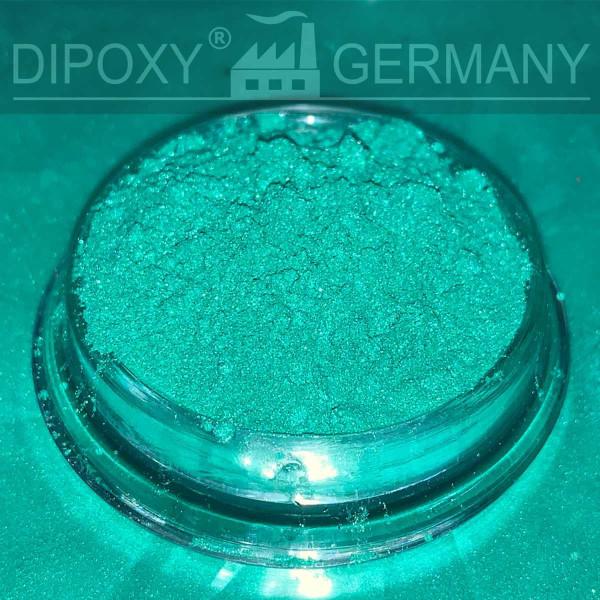 Résine Époxyde Effet Pigments Perle 03 Vert Époxy Oxyde Poudre de Pigment Béton