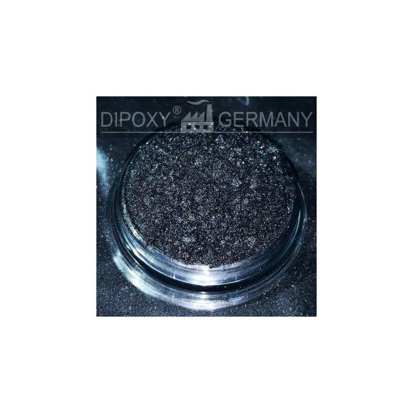 Epoxi Efecto Pigmento Pearl 02 Negra de Color Pigmento en polvo Hormigón 5g