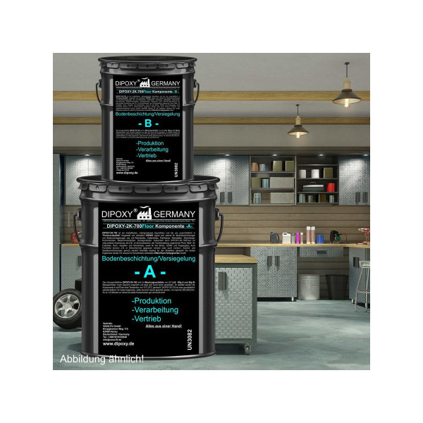 30 kg / 150m² 2K Epoxidharz resin Bodenbeschichtung Epoxydharz Epoxy Bodenfarbe